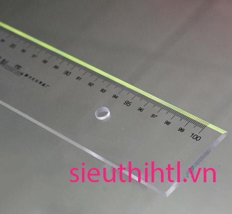 Thước mica 100cm