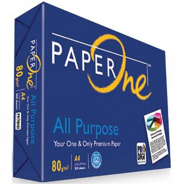 Giấy Paper One – A4 ĐL80