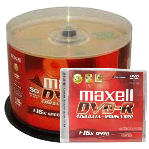 Đĩa DVD – R Maxell 4.7GB