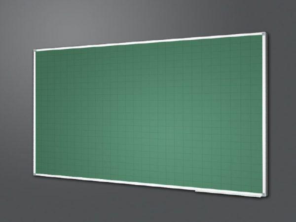 Bảng kẻ ô vuông xanh và trắng