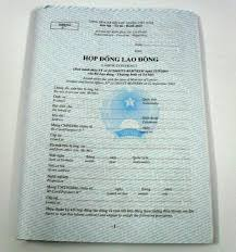 Hợp đồng lao động – Tiếng Việt