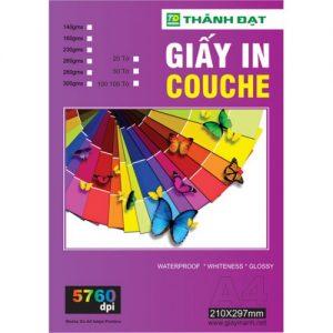 Giấy KM- Giấy Couche in 2 mặt-260g(A4 50 tờ)