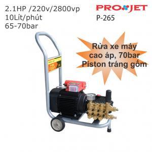Máy rửa xe máy PROJET 1.6kw P-265